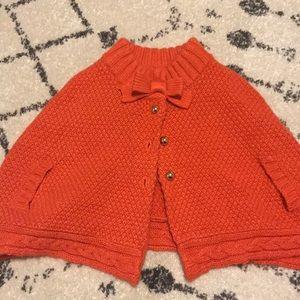 Janie and Jack poncho sweater